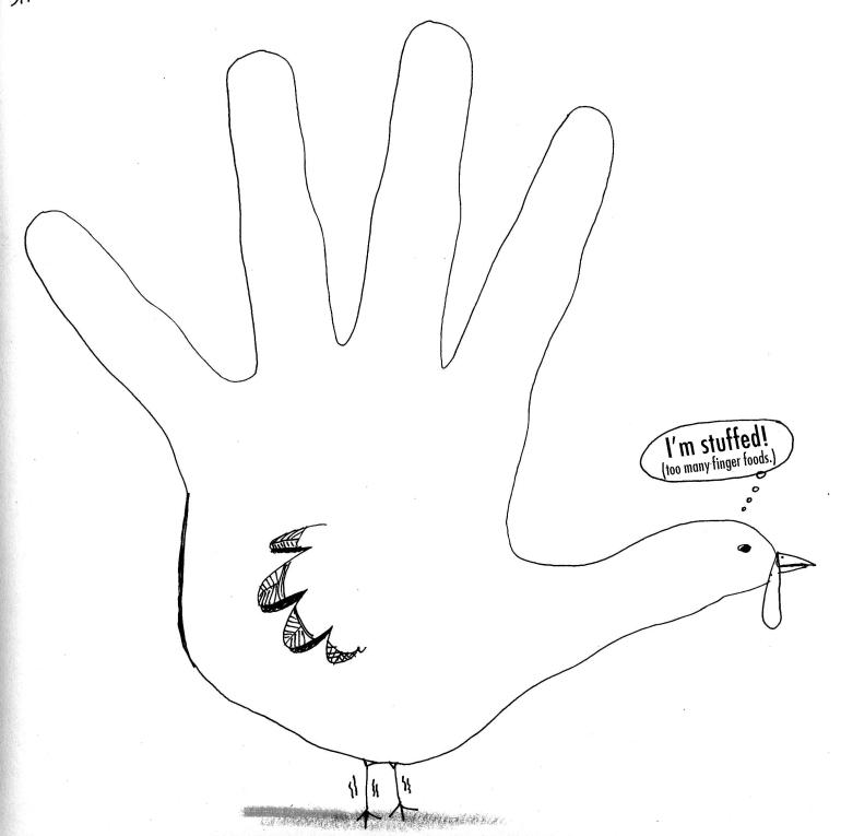 bird fingers