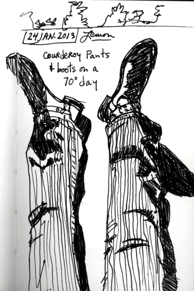 Courderoy Legs