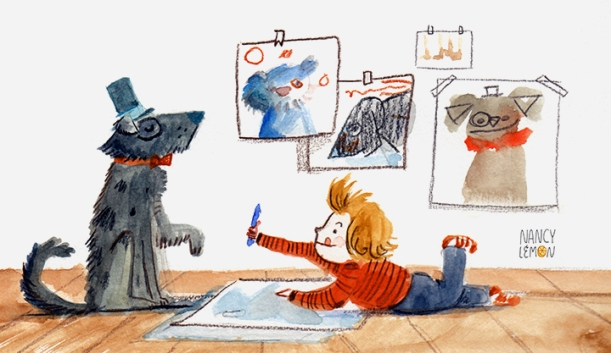 Muse, Draw This, SCBWI Nancy Lemon Carney ©2015