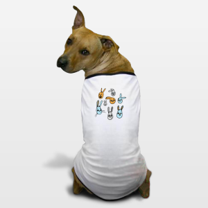 dog-shirt-bunnies ©2015 Nancy Lemon Studio
