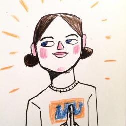 Self-portrait after Yoga