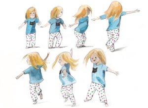 The Twirl illustration by Nancy Lemon © 2016